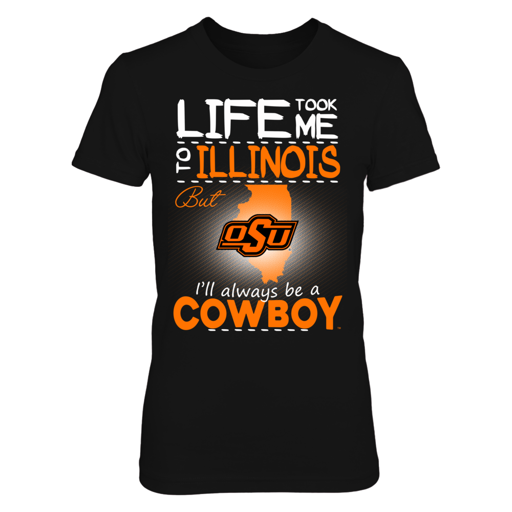 Oklahoma State Cowboys - Life Took Me To Illinois Front picture