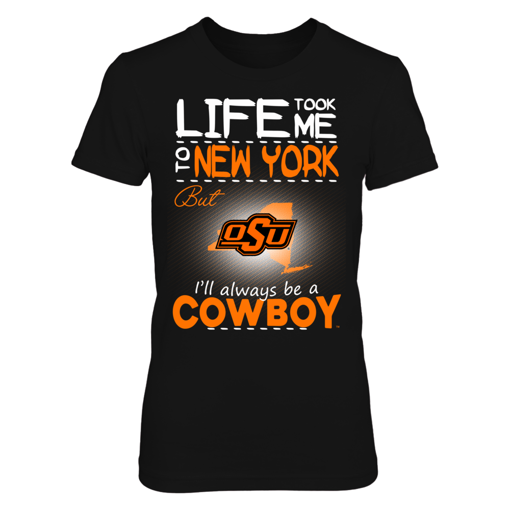 Oklahoma State Cowboys - Life Took Me To New York Front picture
