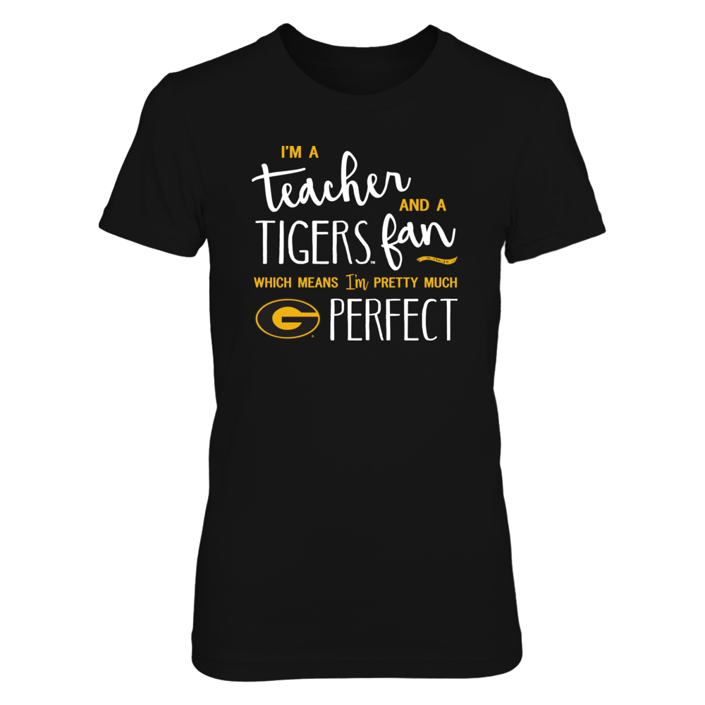 Perfect Teacher Grambling State Tigers Fan T-Shirt | Tank | Hoodie Front picture