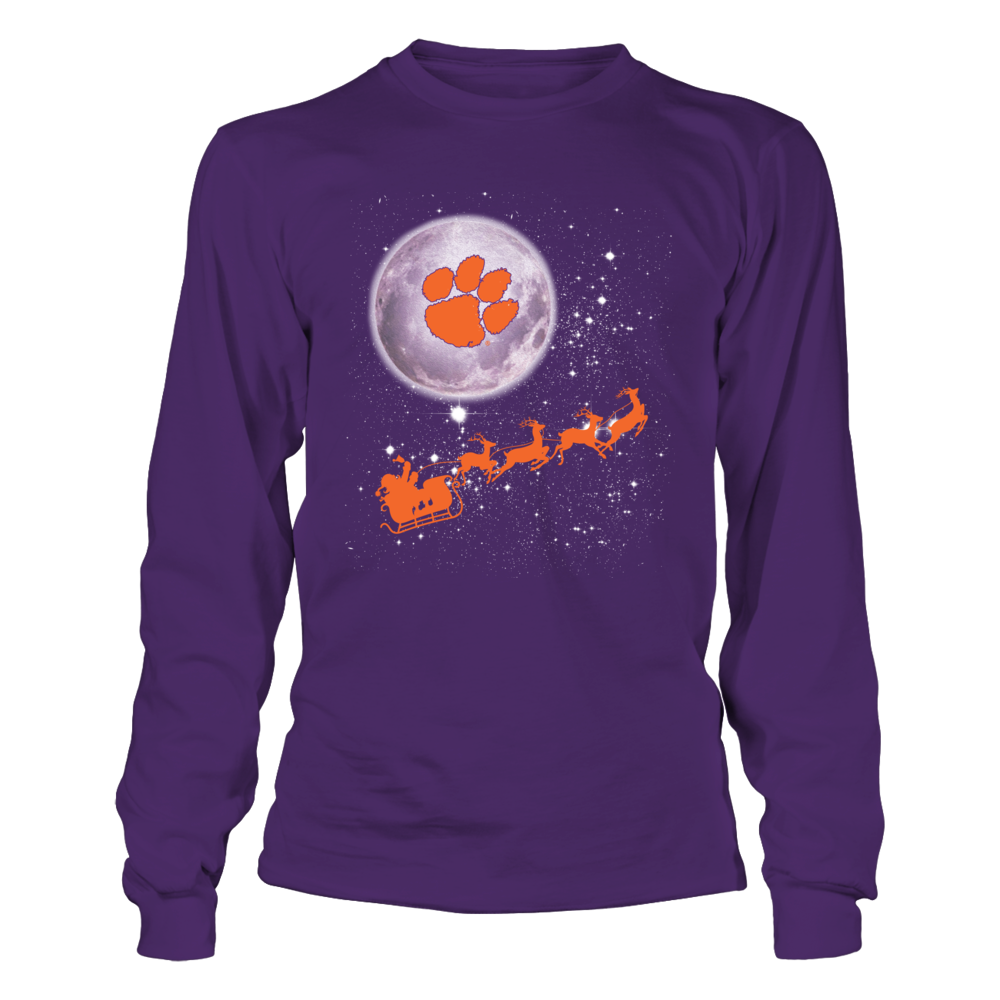 Clemson Tigers - Football Sleigh Front picture