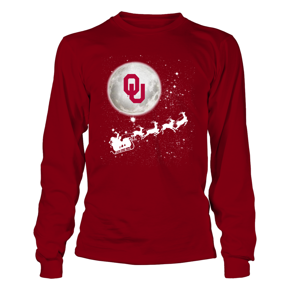 Oklahoma Sooners - Football Sleigh Front picture