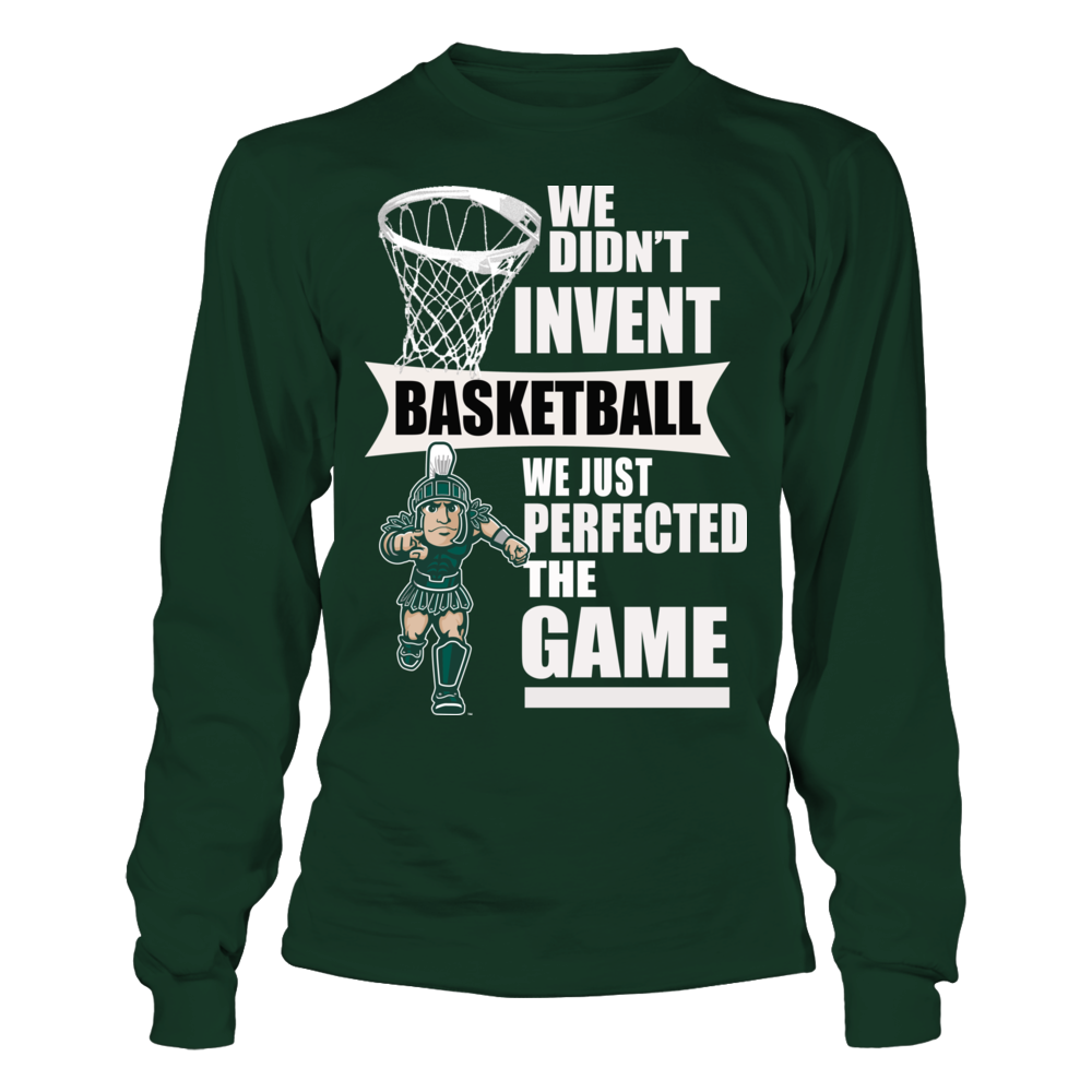 Michigan State Spartans Basketball Sweatshirt and Tees Front picture