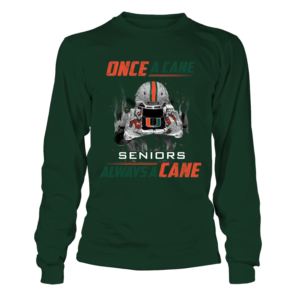 Miami Hurricanes - Once A Cane Always A Cane Front picture