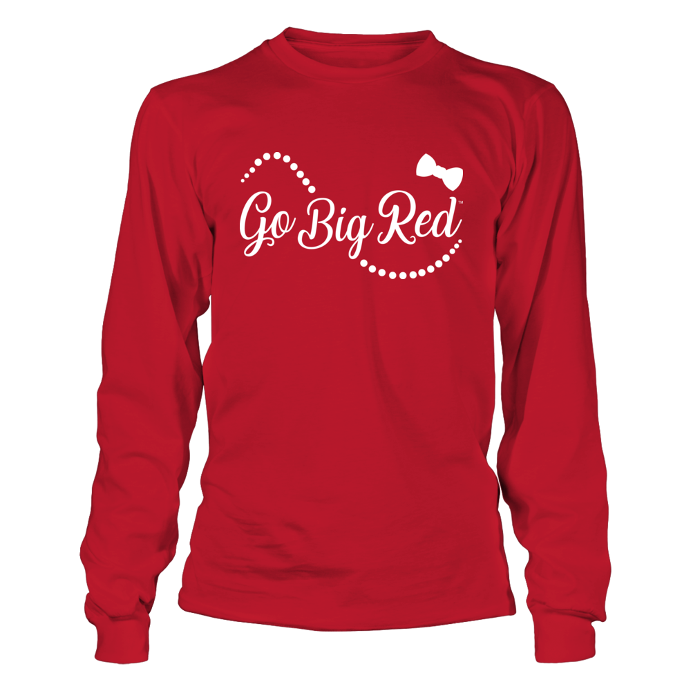 Nebraska Cornhuskers - Bow And Pearl - Go Big Red Front picture