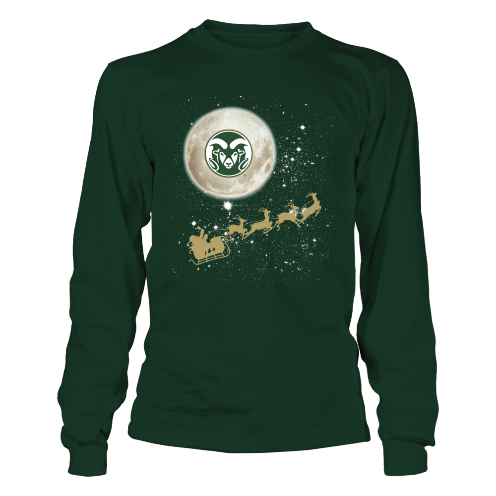 Colorado State Rams - Football Sleigh Front picture