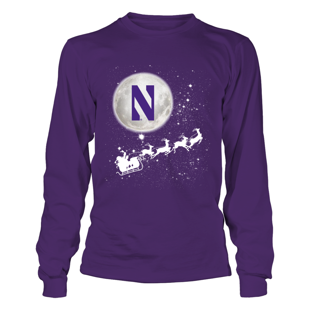Northwestern Wildcats - Football Sleigh Front picture