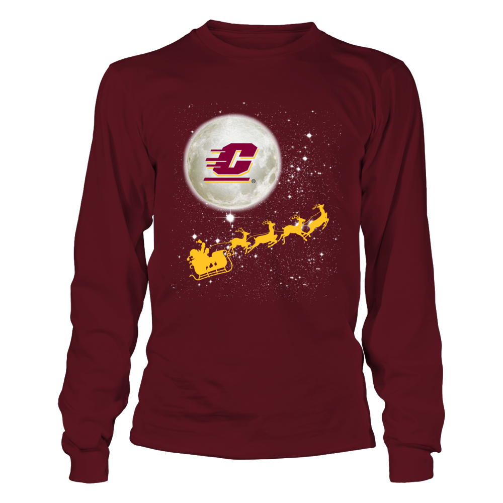Central Michigan Chippewas - Football Sleigh Front picture