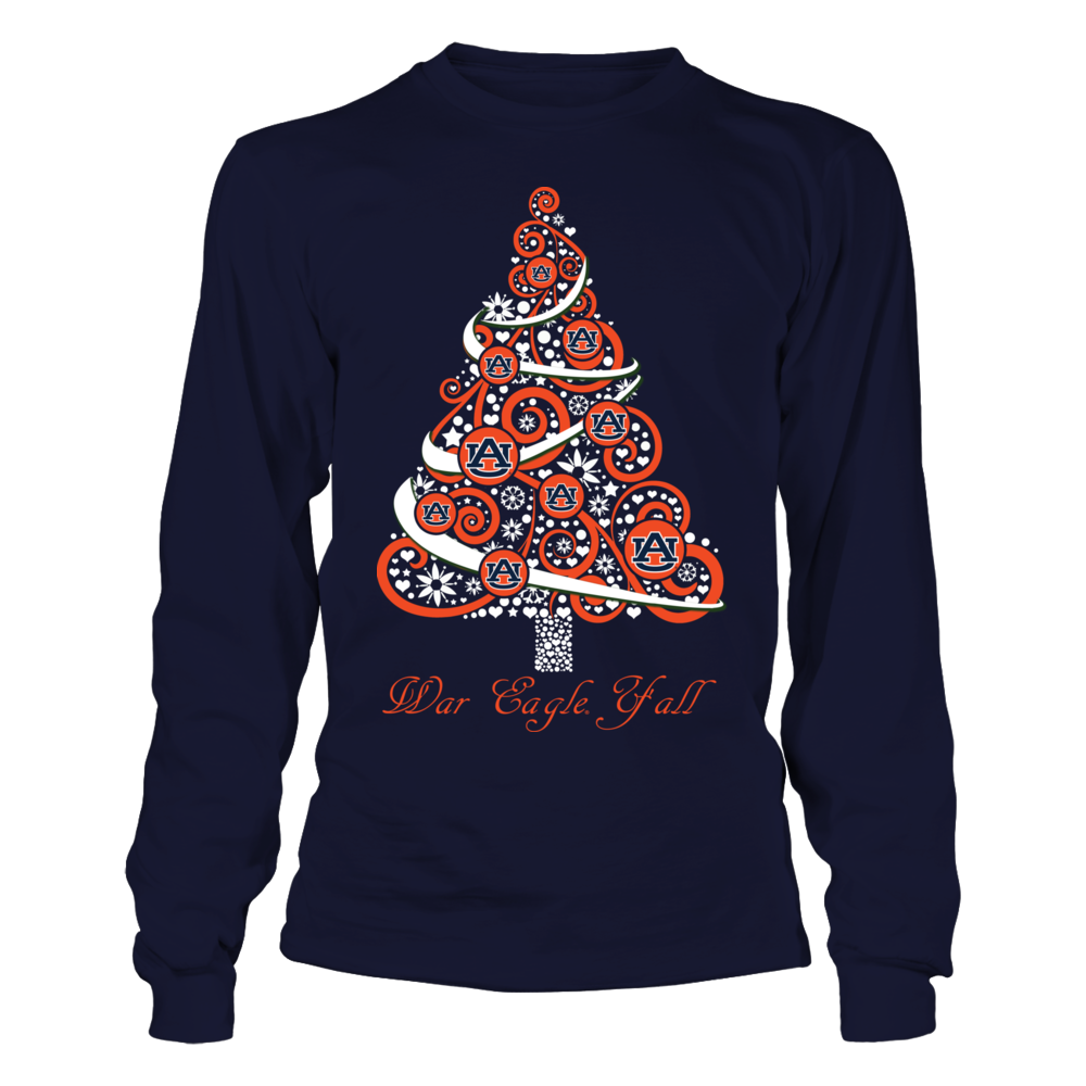 Auburn Tigers - Logo Christmas Tree Front picture