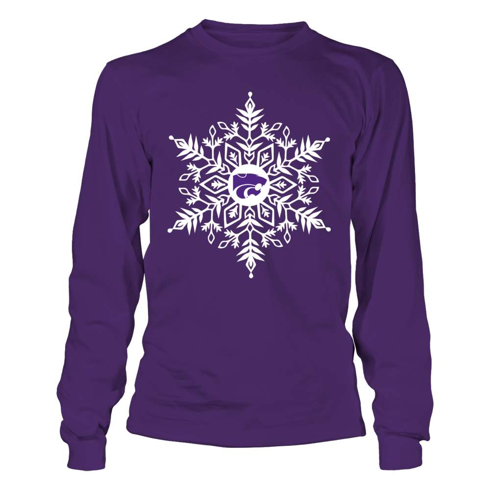 Kansas State Wildcats - Snowflake Logo Front picture