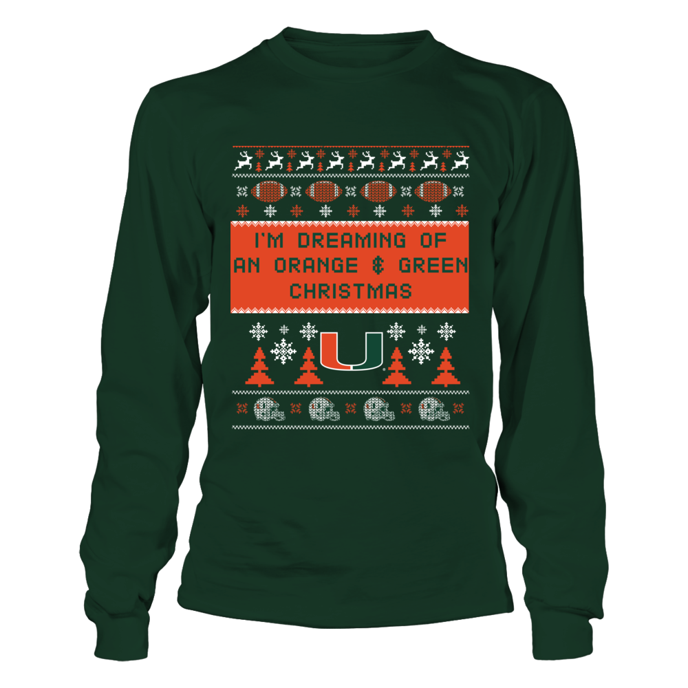 Miami Hurricanes - Dream of Christmas Front picture