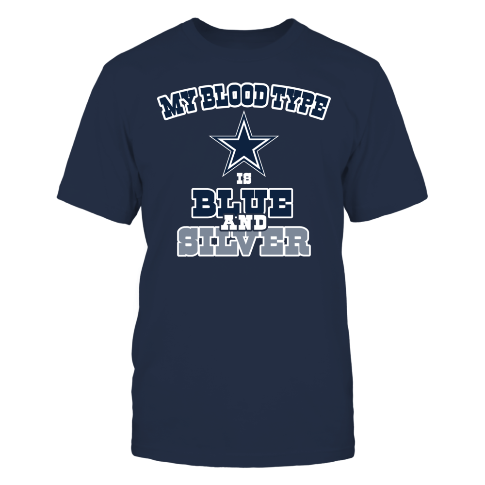 Dallas Cowboys - Blue & Silver Front picture