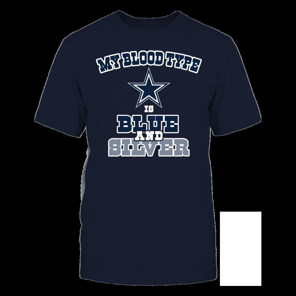 Dallas Cowboys - Blue & Silver Front picture
