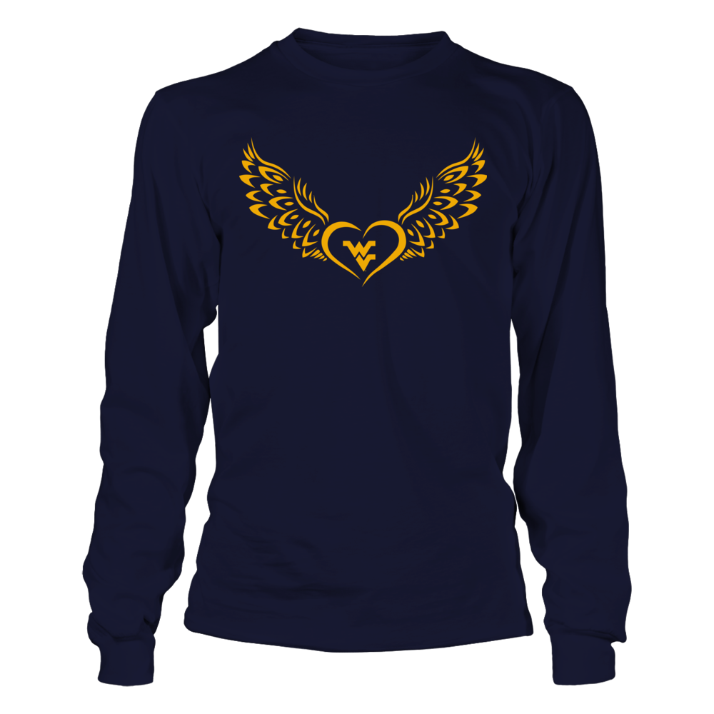 West Virginia Mountaineers - Flying Heart Front picture