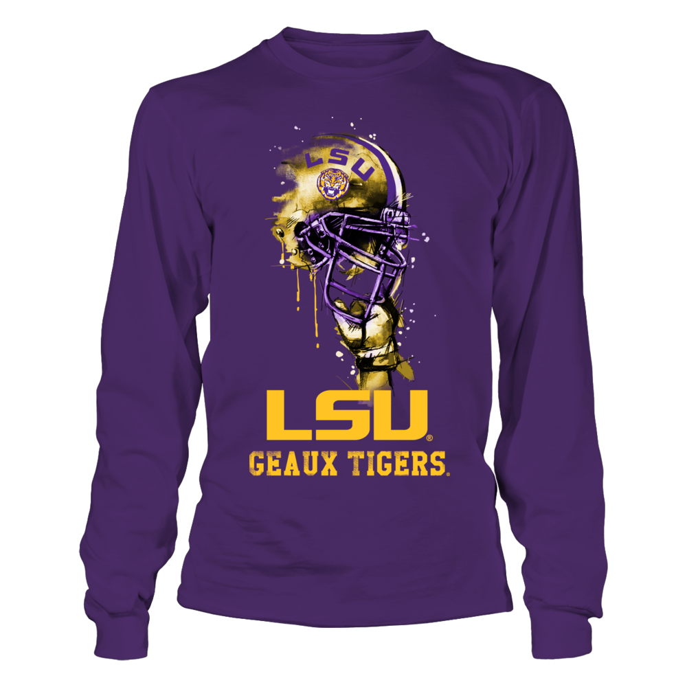 LSU Tigers - Rising Helmet Front picture