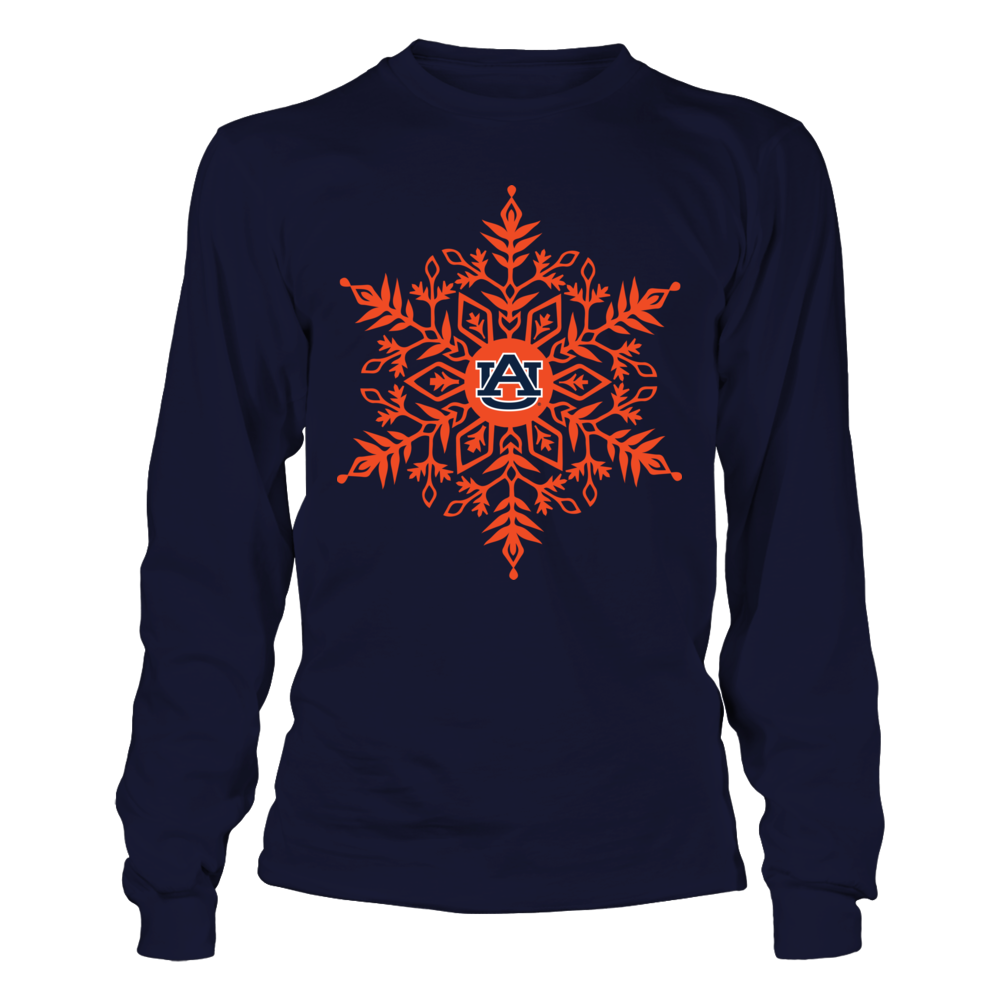 Auburn Tigers - Snowflake Logo Front picture