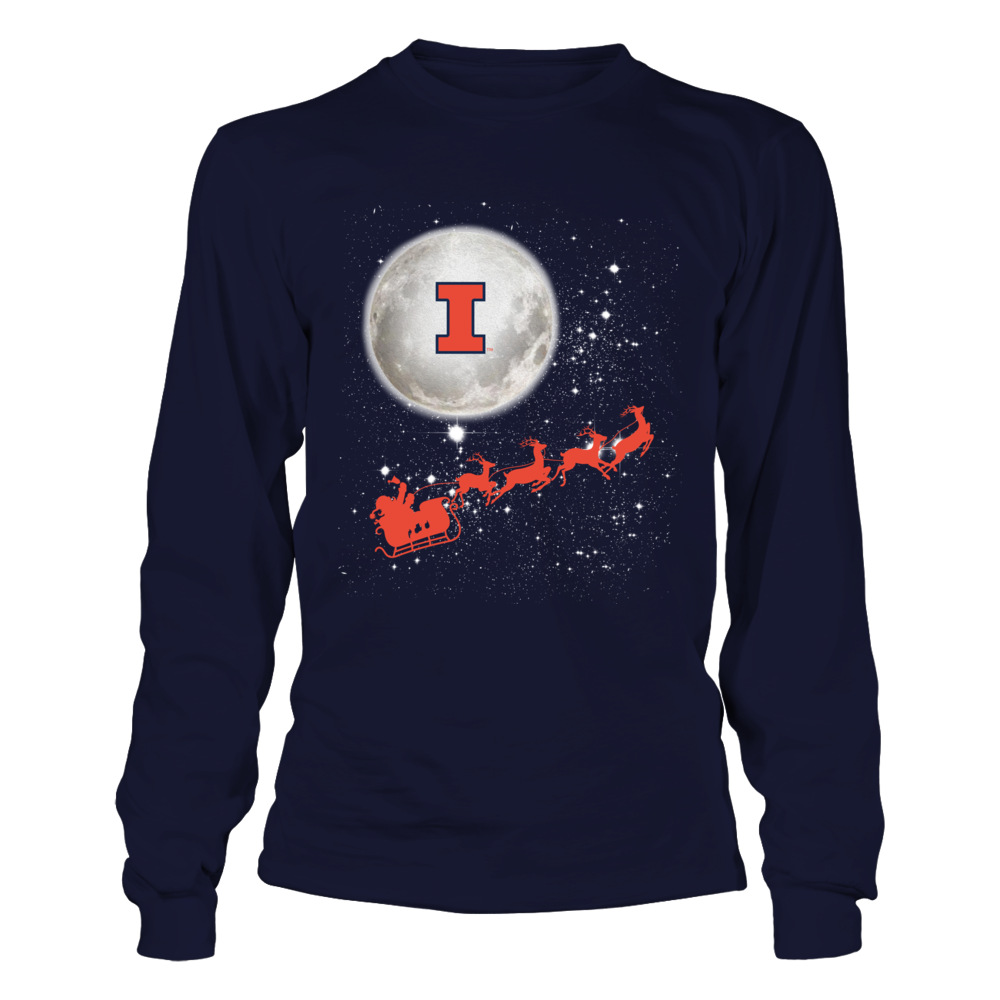 Illinois Fighting Illini - Football Sleigh Front picture