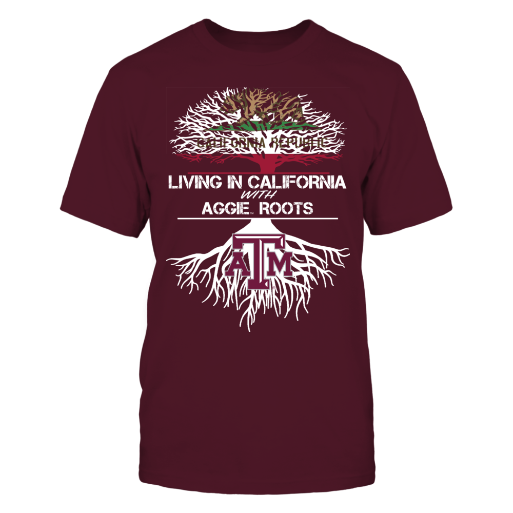 Texas A&M Aggies - Living Roots California Front picture