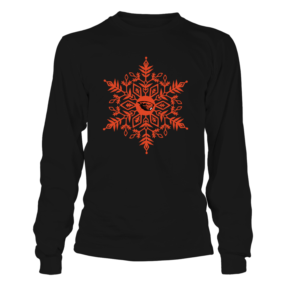 Oregon State Beavers - Snowflake Logo Front picture