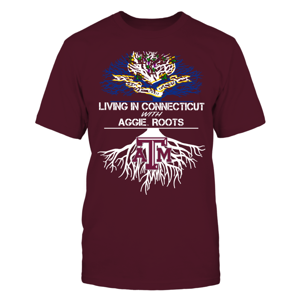 Texas A&M Aggies - Living Roots Connecticut Front picture