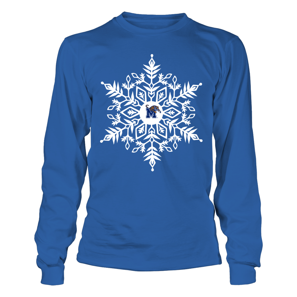 Memphis Tigers - Snowflake Logo Front picture