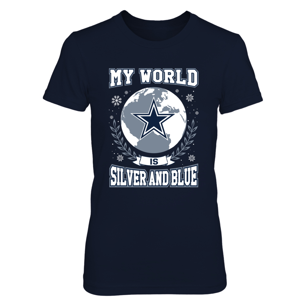 Dallas Cowboys - My World Is Silver And Blue Front picture