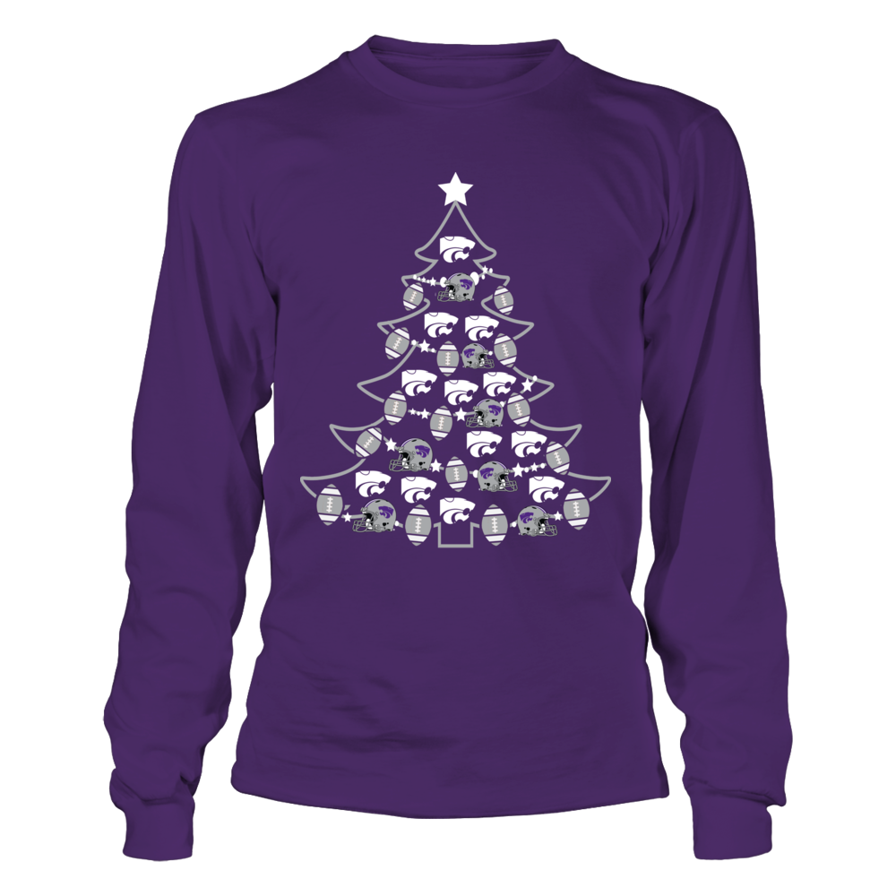 Kansas State Wildcats - Football Xmas Tree Front picture