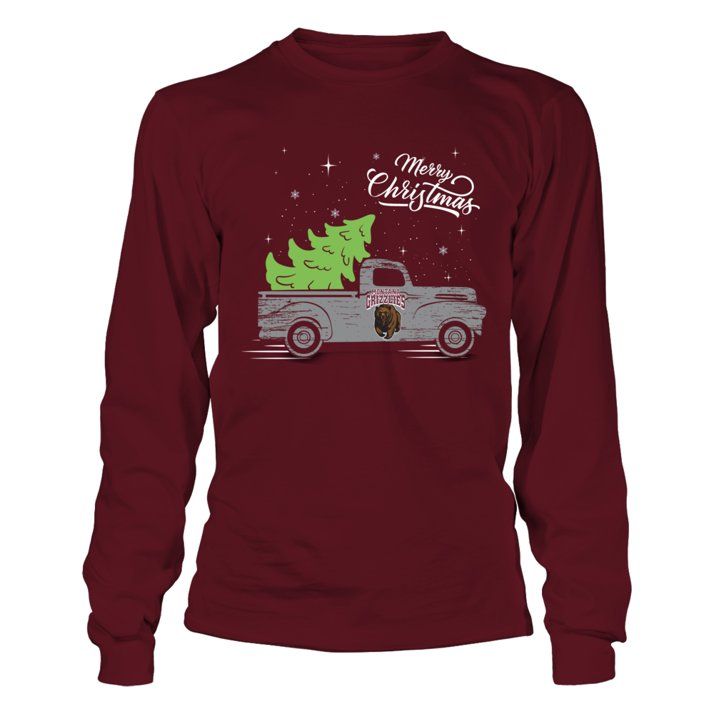 Montana Grizzlies - Christmas Truck Front picture