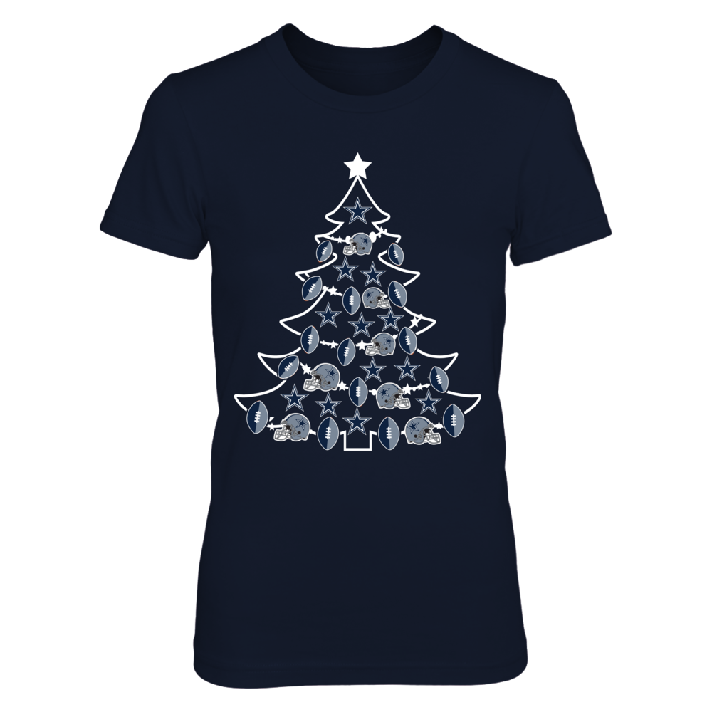 Dallas Cowboys - Football Xmas Tree Front picture