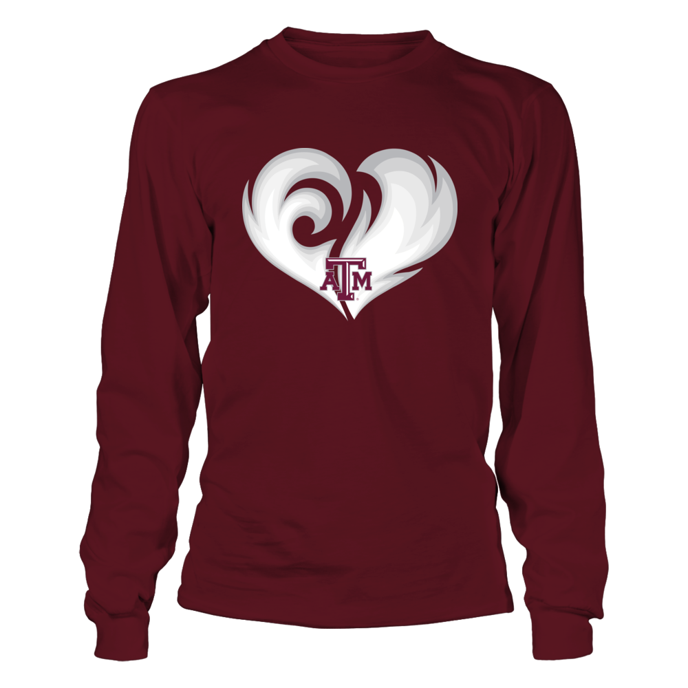 Texas A&M Aggies - Fire Heart Front picture
