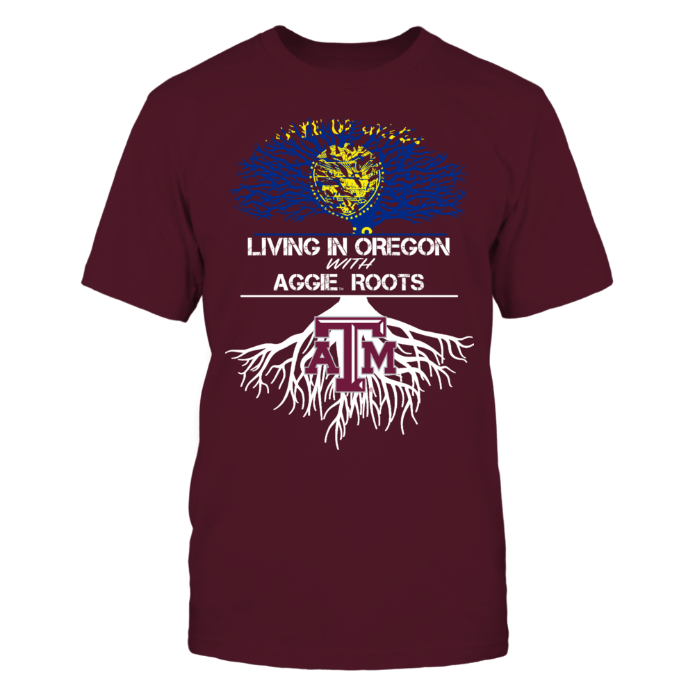 Texas A&M Aggies - Living Roots Oregon Front picture