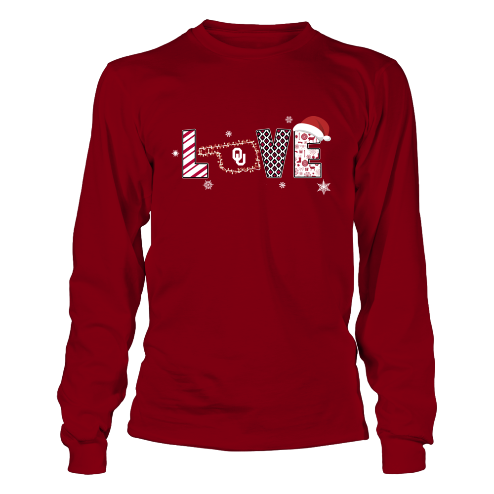 Oklahoma Sooners - Love Christmas Front picture