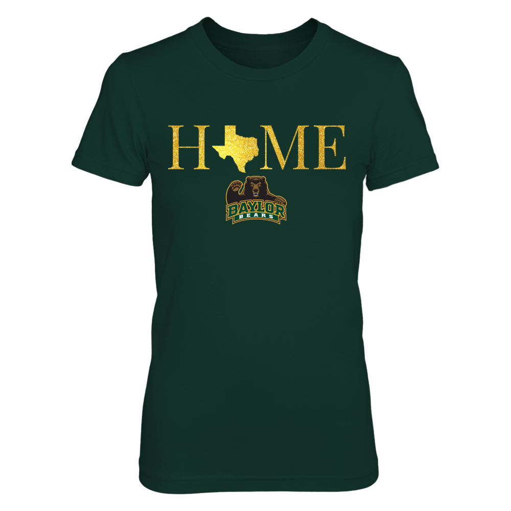Texas Home in Shiny Gold - Baylor Bears Front picture