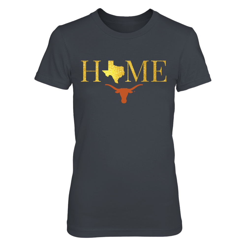 Texas Home in Shiny Gold - Texas Longhorns Front picture