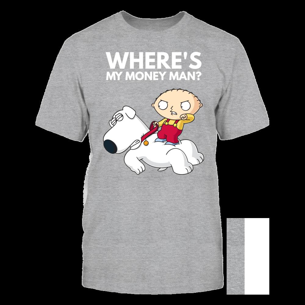 Family Guy Family Guy Stewie Brian Where's My Money Man FanPrint