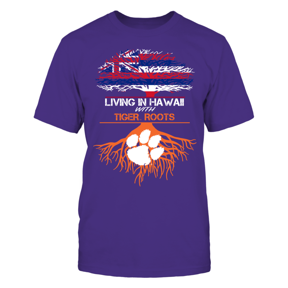 Clemson Tigers - Living Roots Hawaii Front picture