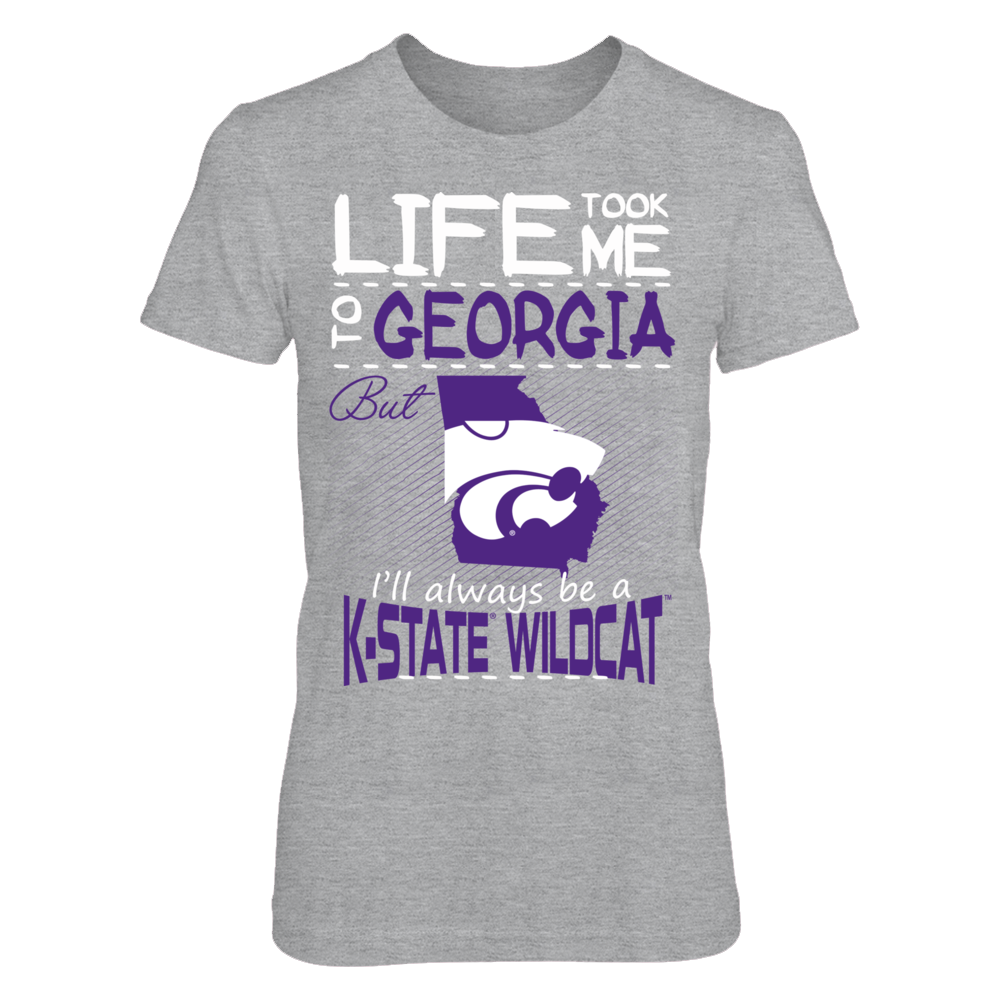 Kansas State Wildcats - Life Took Me To Georgia Front picture