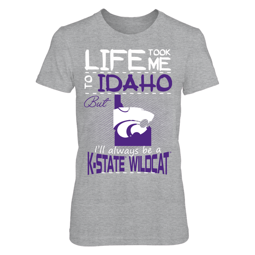 Kansas State Wildcats - Life Took Me To Idaho Front picture