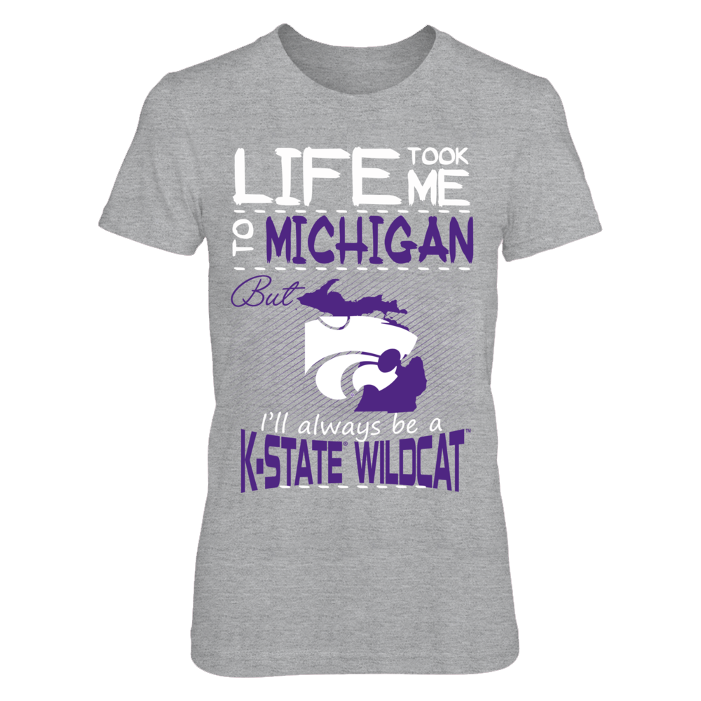 Kansas State Wildcats - Life Took Me To Michigan Front picture