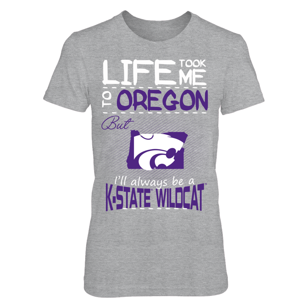 Kansas State Wildcats - Life Took Me To Oregon Front picture