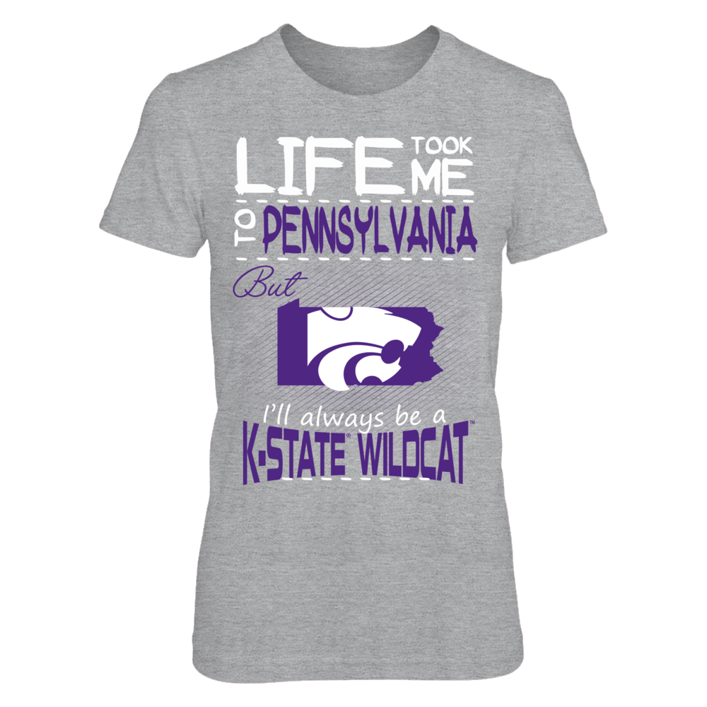 Kansas State Wildcats - Life Took Me To Pennsylvania Front picture