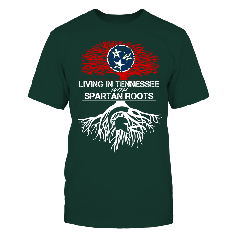Michigan State Spartans - Living Roots Tennessee Front picture