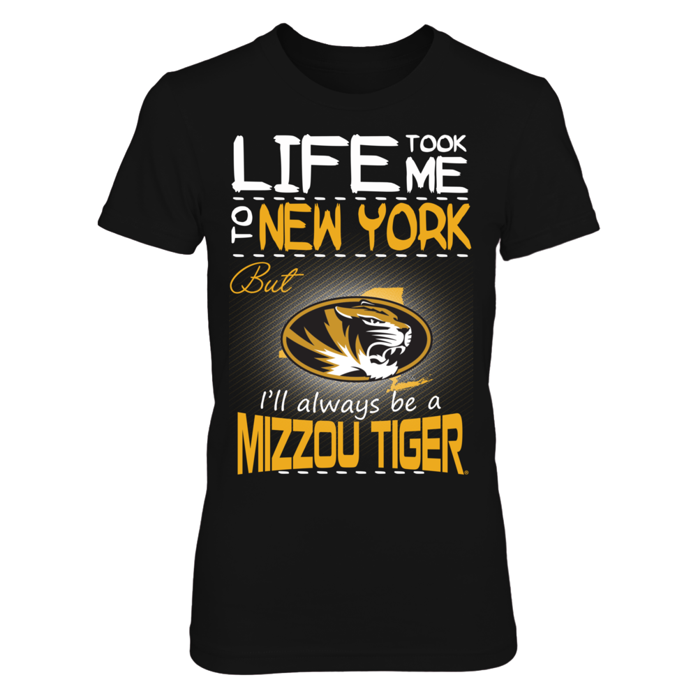 Mizzou Tigers - Life Took Me To New York Front picture