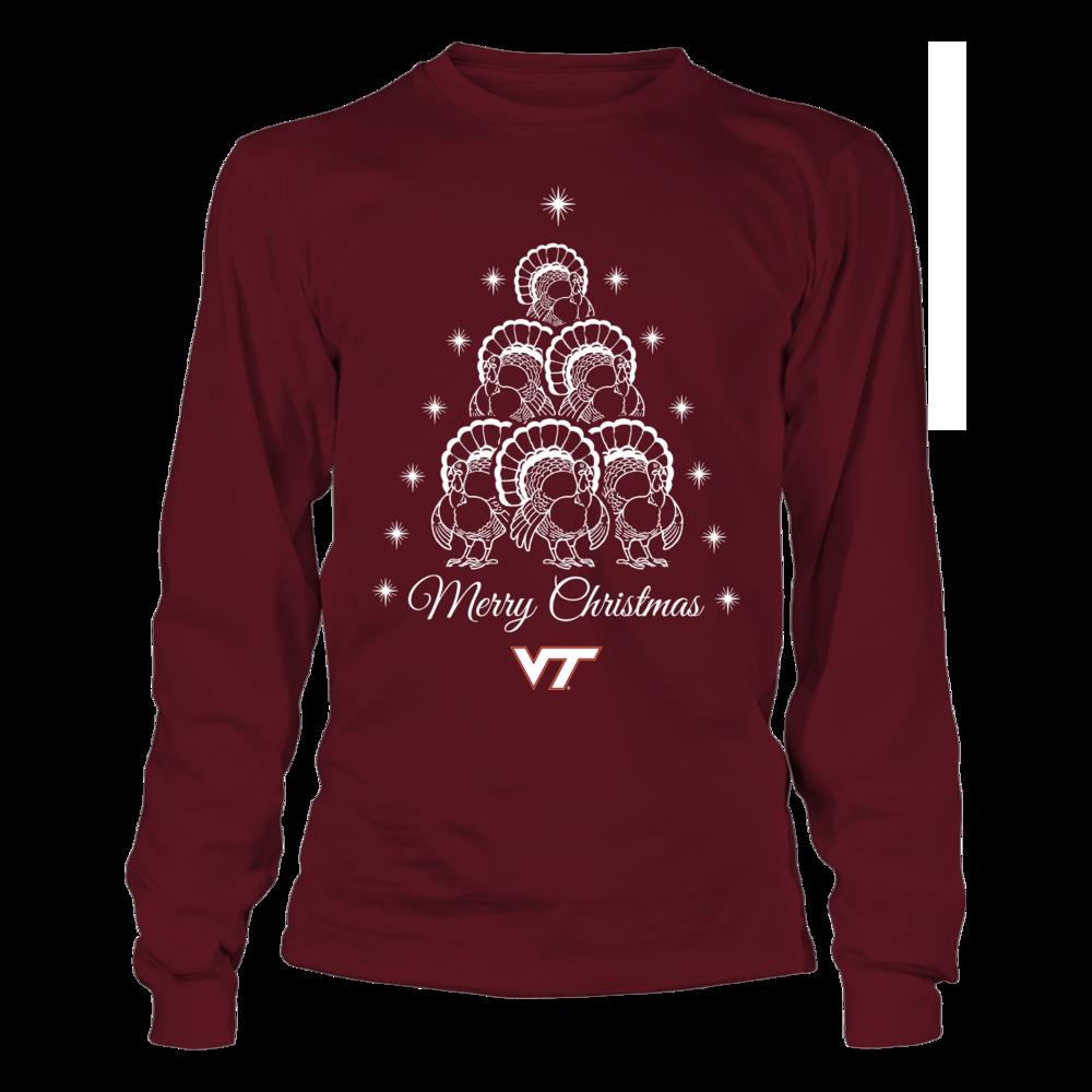 Virginia Tech Hokies - Mascot Christmas Tree Front picture