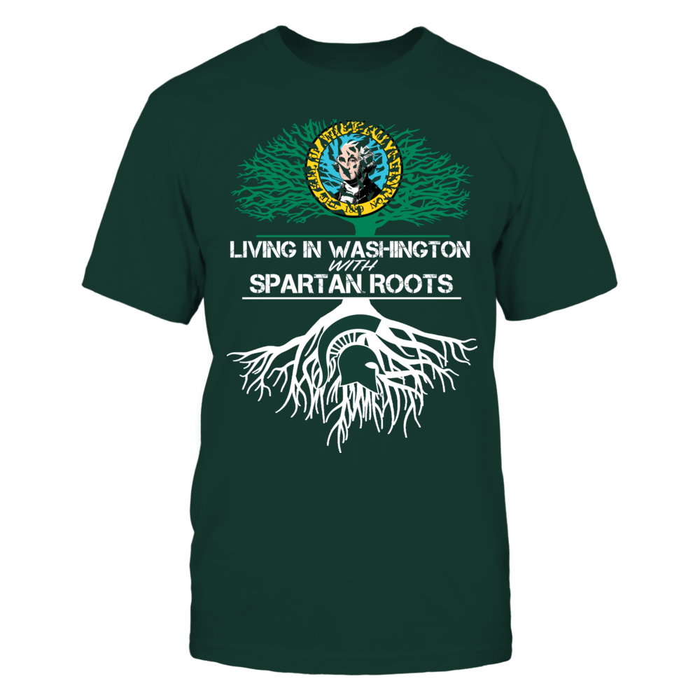 Michigan State Spartans - Living Roots Washington Front picture