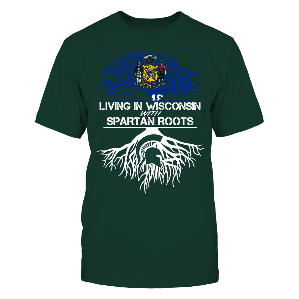 Michigan State Spartans - Living Roots Wisconsin Front picture