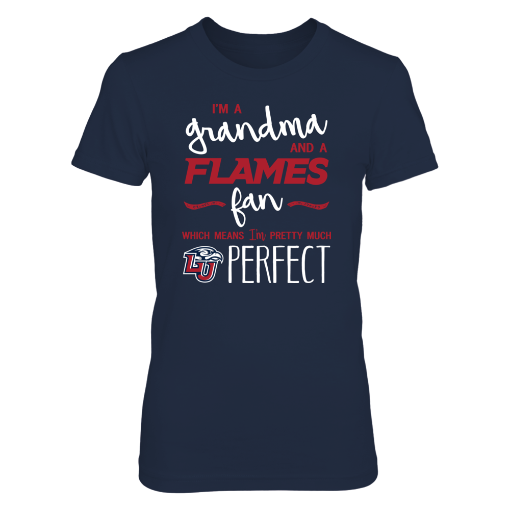 Perfect Grandma Liberty Flames Fan T-Shirt | Tank | Hoodie Front picture