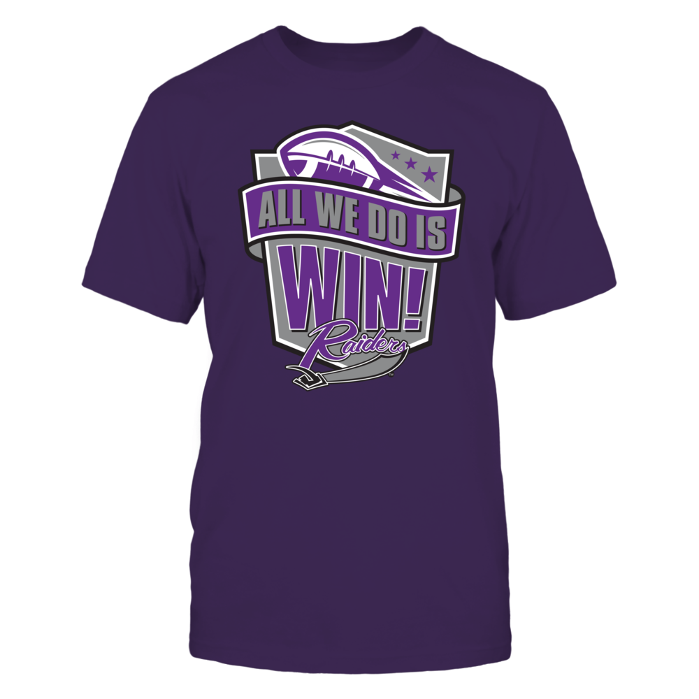 Mount Union National Championship T-Shirt | Tank | Hoodie - All We Do is Win Front picture
