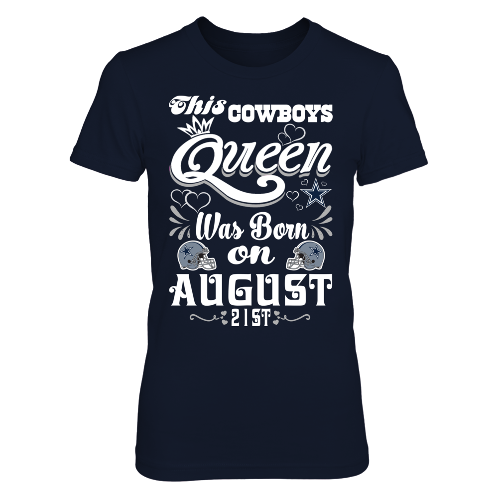 This Cowboys Queen Was Born On August 21st Front picture
