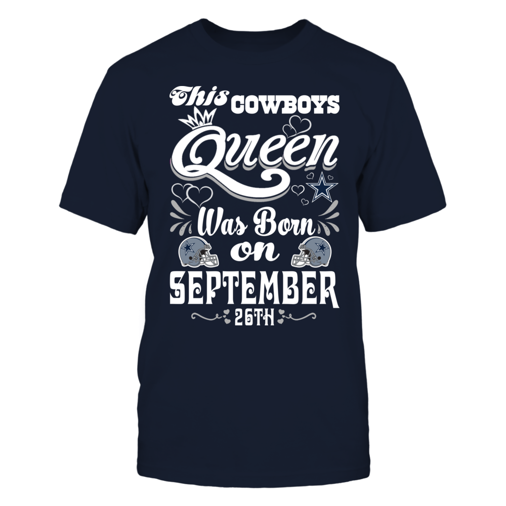 This Cowboys Queen Was Born On September 26th Front picture