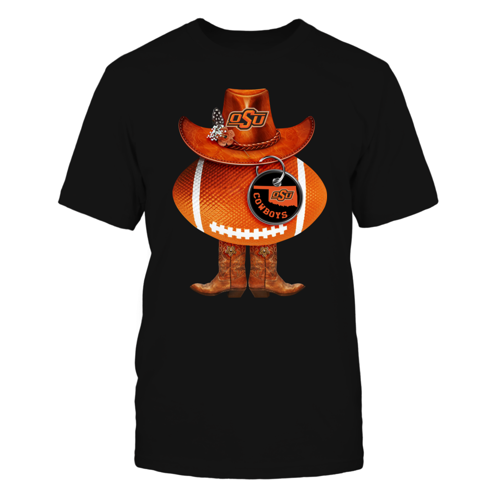 Oklahoma State Cowboys - Cowboys Football Symbol Front picture